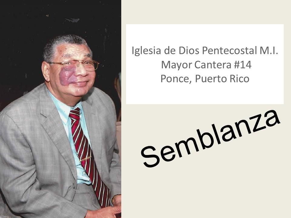 IDDPMI Pastor Fernando Sanchez Semblanza Diapositiva1