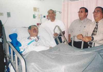 IDDPMI Revdo. Sanchez en el Hospital