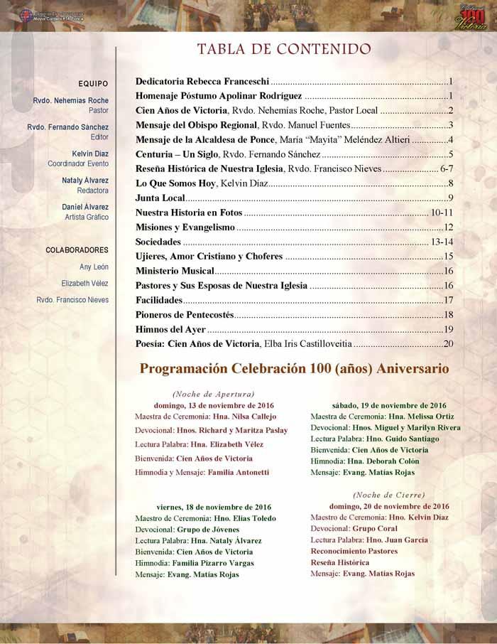 IDDPMI Revista 100 Años de Victoria Page 2
