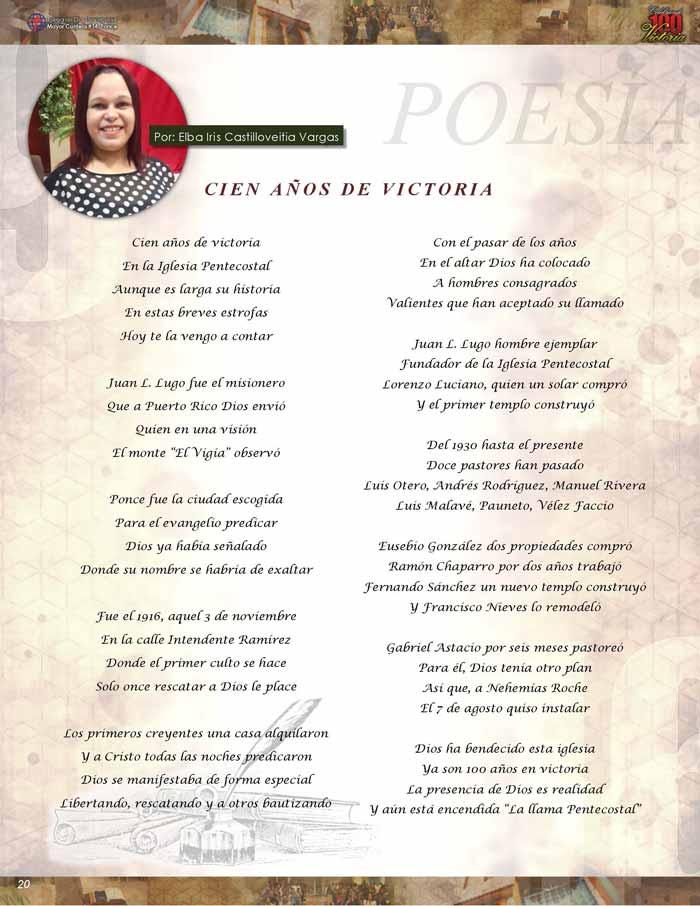 IDDPMI Revista 100 Años de Victoria Page 21