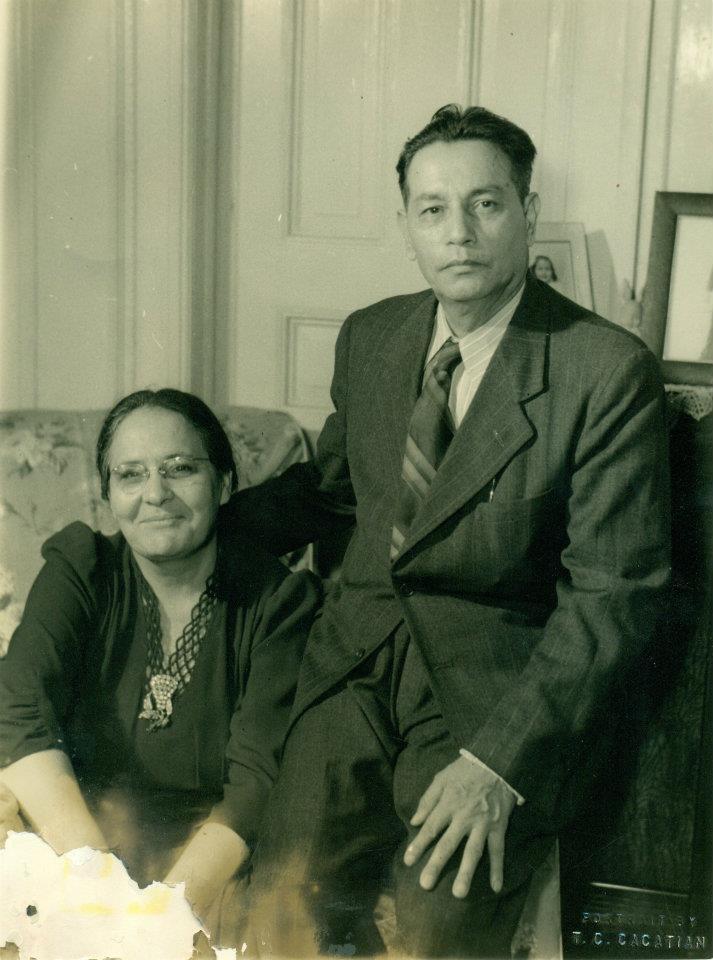 Isabel Lugo y Rev. Juan León Lugo.