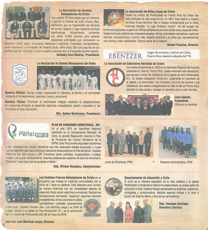 Periodico 100 Años de Pentecostes 1916 2016 Page 10