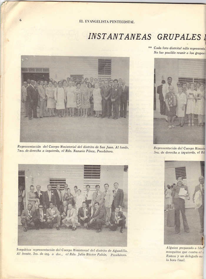 El Evangelista Pentecostal Abril 1977 Pagina 6