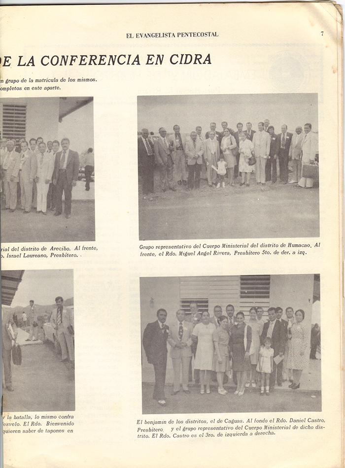 El Evangelista Pentecostal Abril 1977 Pagina 7