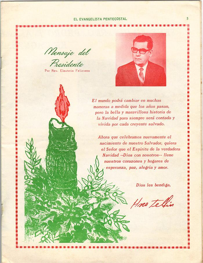 El Evangelista Pentecostal Diciembre 1977 Pagina 5