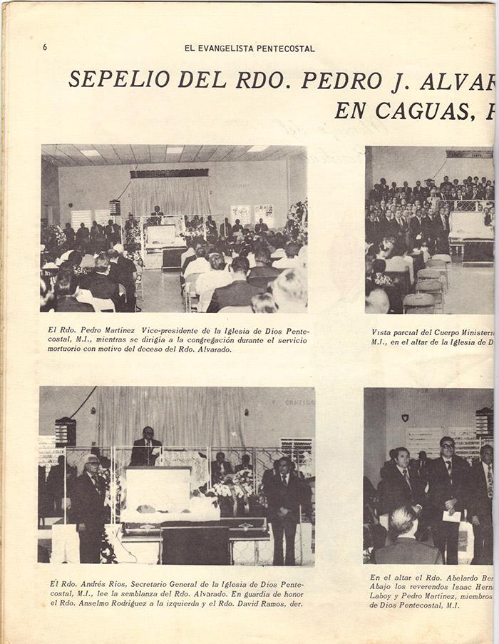 El Evangelista Pentecostal Diciembre 1977 Pagina 6