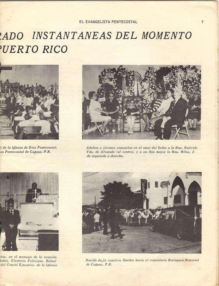 El Evangelista Pentecostal Diciembre 1977 Pagina 7