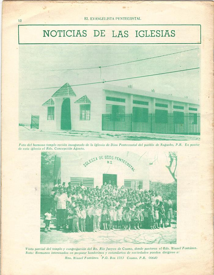 El Evangelista Pentecostal (Julio 1977)-#7 Página 13