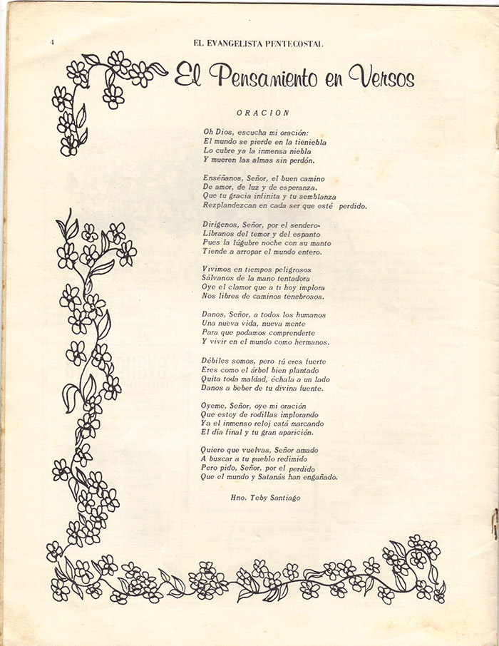 El Evangelista Pentecostal (Julio 1977)-#7 Página 4