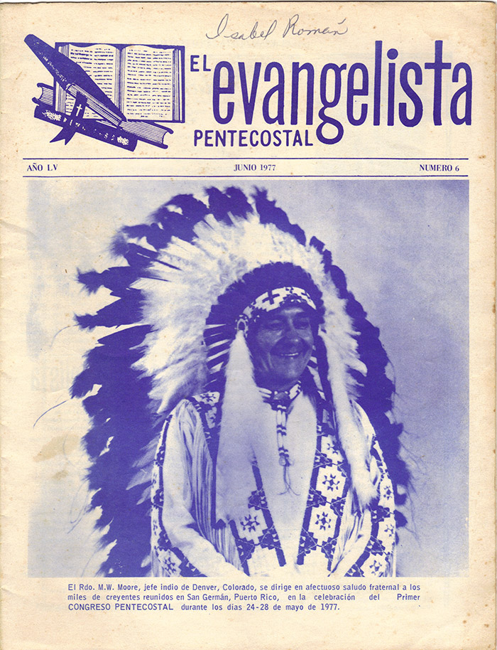 El Evangelista Pentecostal (Junio 1977)-#6 Página 1