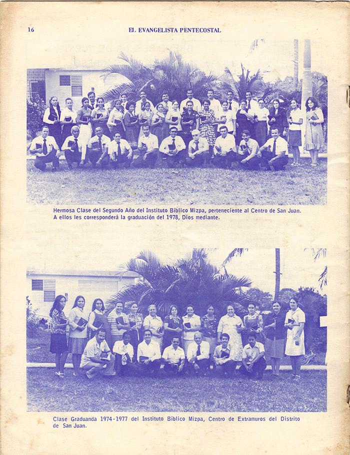 El Evangelista Pentecostal (Junio 1977)-#6 Página 11