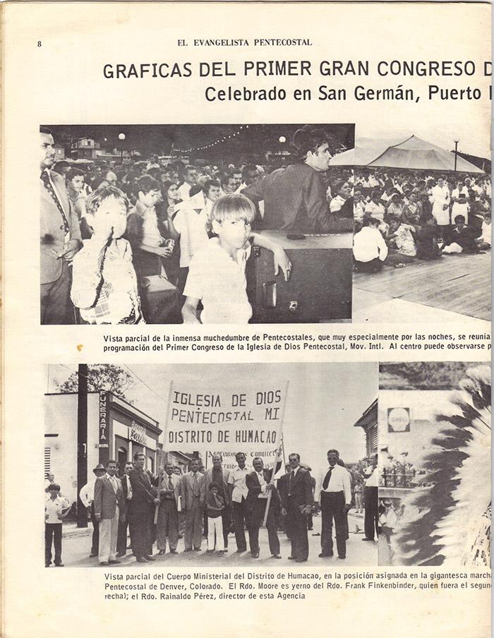 El Evangelista Pentecostal (Junio 1977)-#6 Página 6