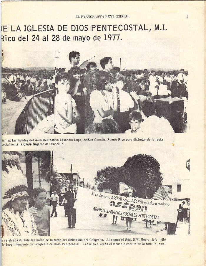 El Evangelista Pentecostal (Junio 1977)-#6 Página 7
