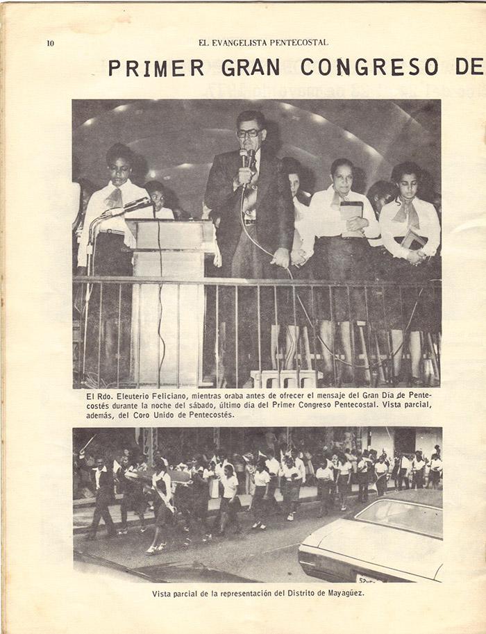 El Evangelista Pentecostal (Junio 1977)-#6 Página 8