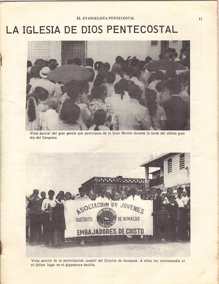 El Evangelista Pentecostal (Junio 1977)-#6 Página 9