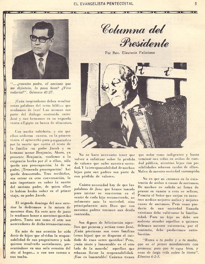 El Evangelista Pentecostal (Junio 1978)-#6 Parte 2 Página 5