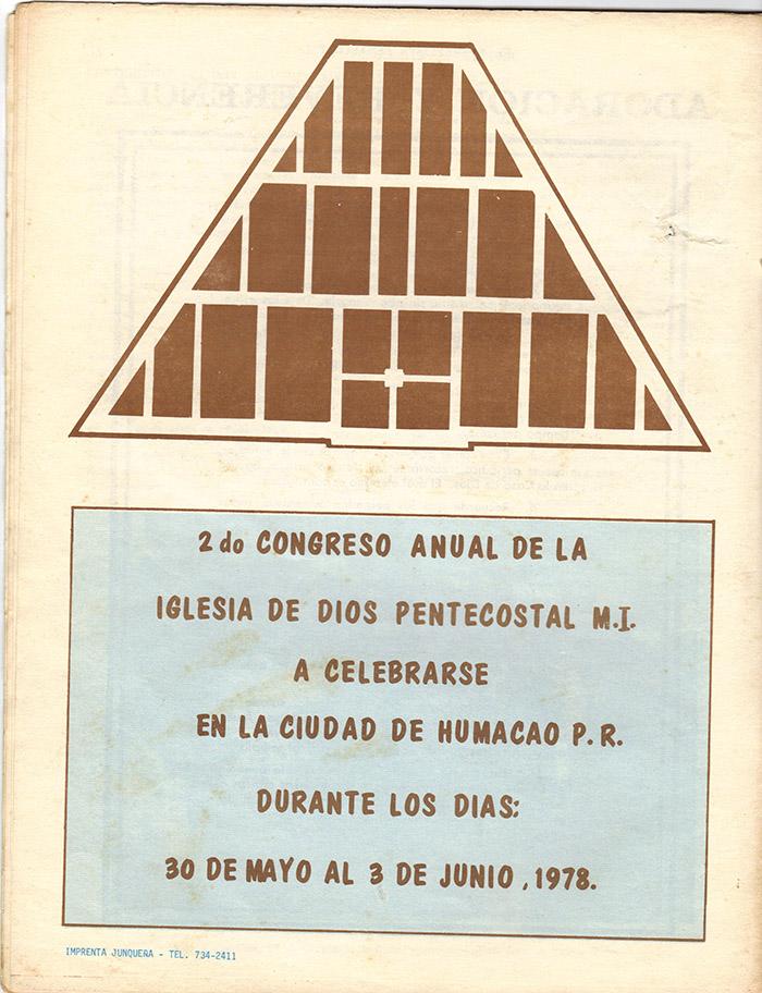 El Evangelista Pentecostal (Mayo 1978)-#4 Página 16