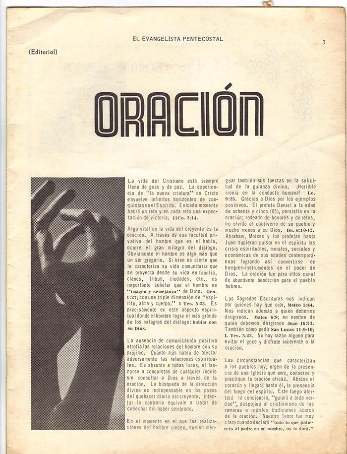El evangelista Pentecostal (feb 1978)-#2 pagina 3
