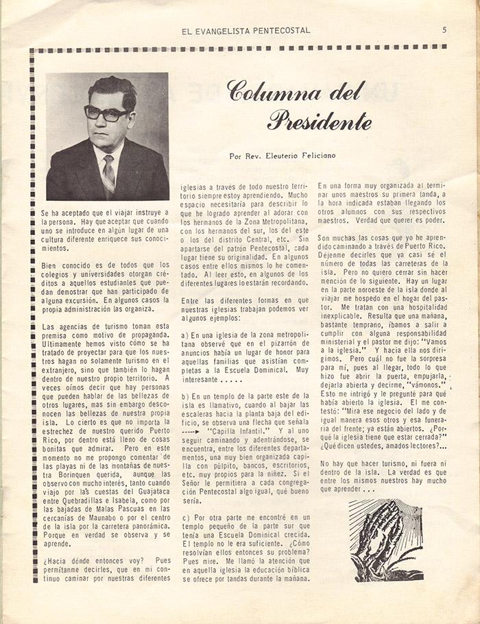 El evangelista Pentecostal (feb 1978)-#2 pagina 5