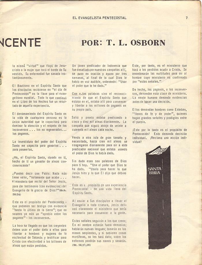 El evangelista Pentecostal (feb 1978)-#2 pagina 7