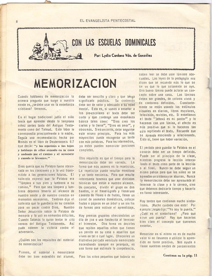 El evangelista Pentecostal (feb 1978)-#2 pagina 8