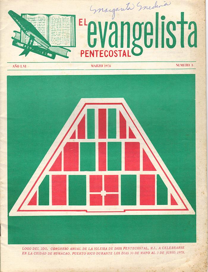 El evangelista Pentecostal (marzo 1978)-#3 pagina 1