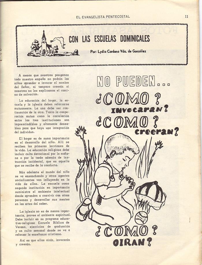 El evangelista Pentecostal (marzo 1978)-#3 pagina 11