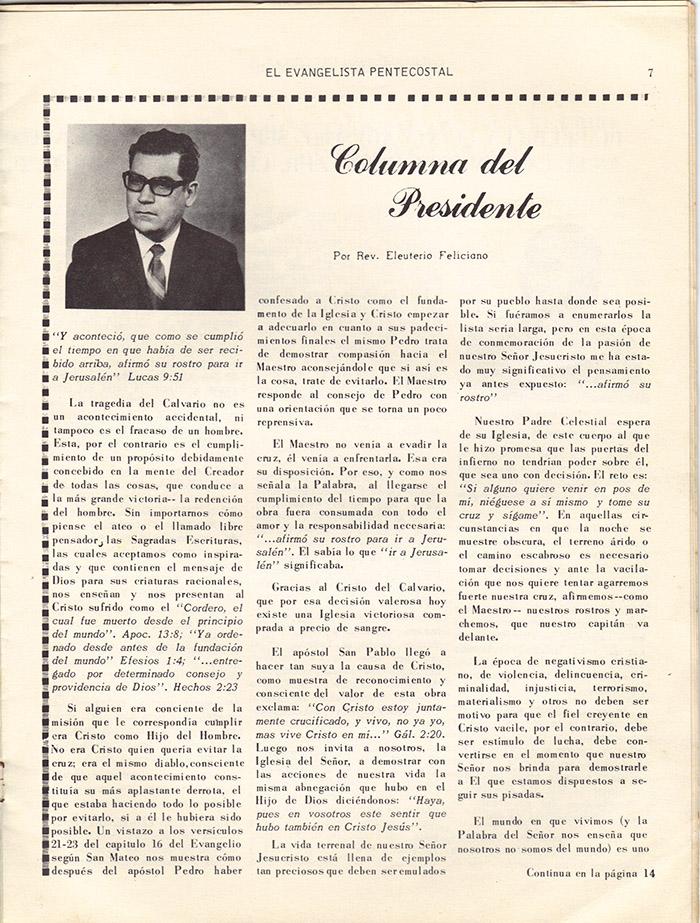 El evangelista Pentecostal (marzo 1978)-#3 pagina 7
