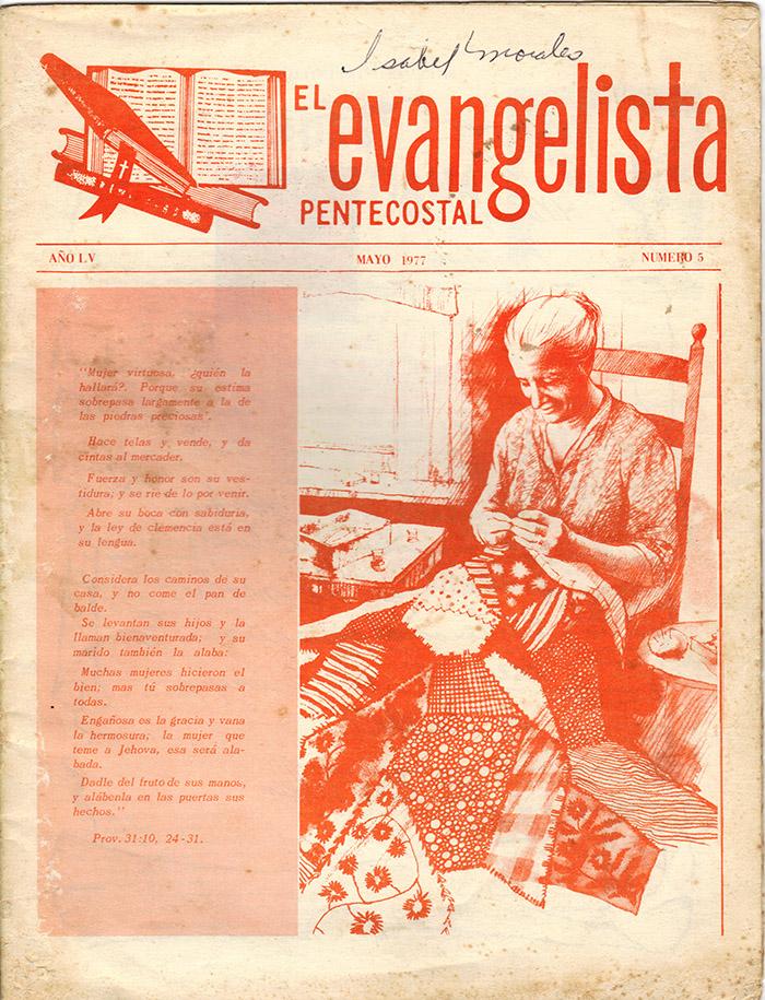 El Evangelista Pentecostal (Mayo 1977)-#5 Página 1