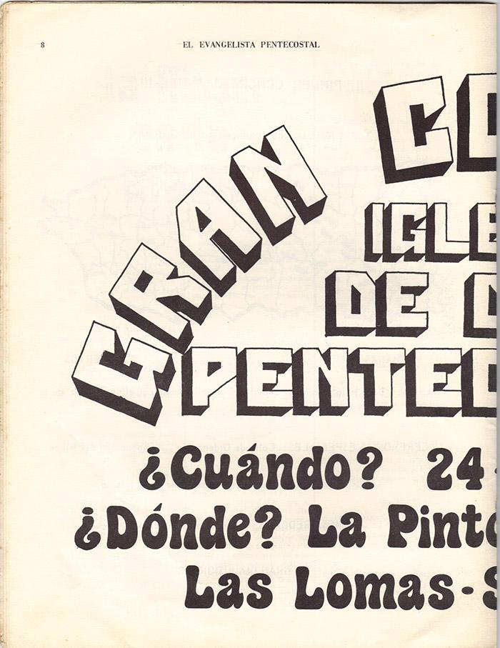 El Evangelista Pentecostal (Mayo 1977)-#5 Página 6
