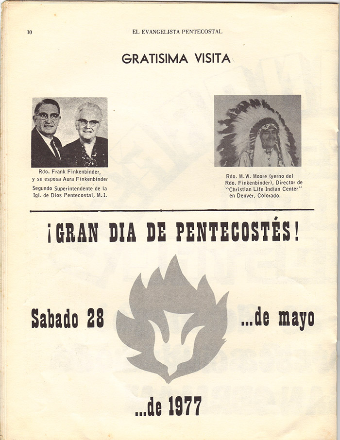 El Evangelista Pentecostal (Mayo 1977)-#5 Página 8