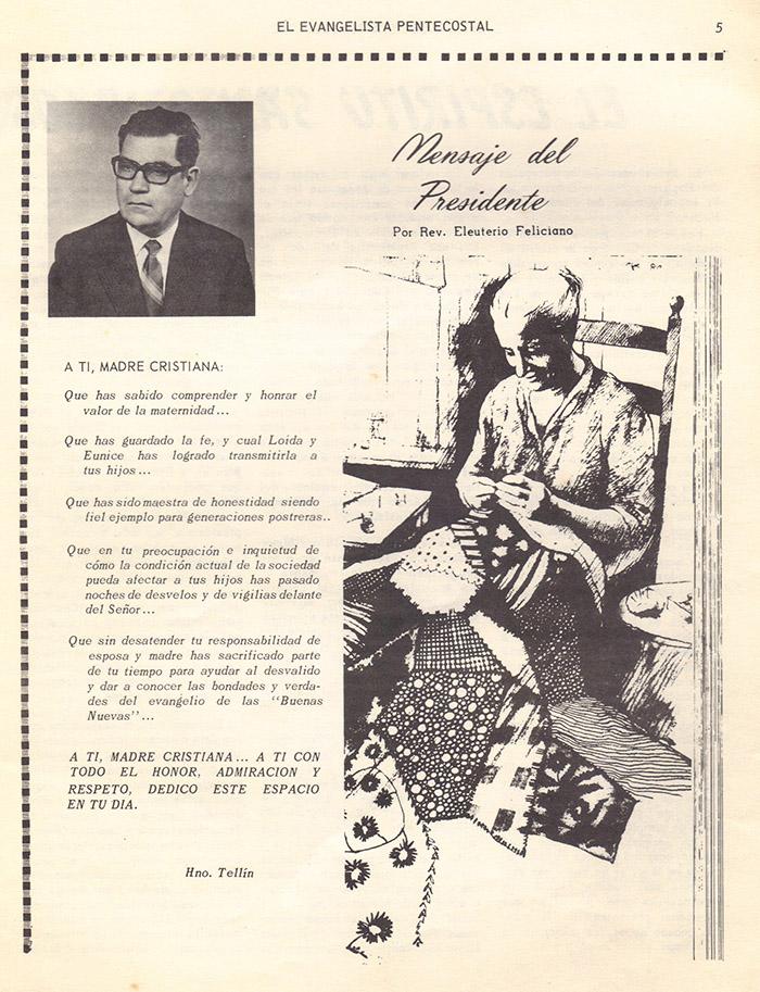 El Evangelista Pentecostal (Mayo 1978)-#5 parte 2 Página 5