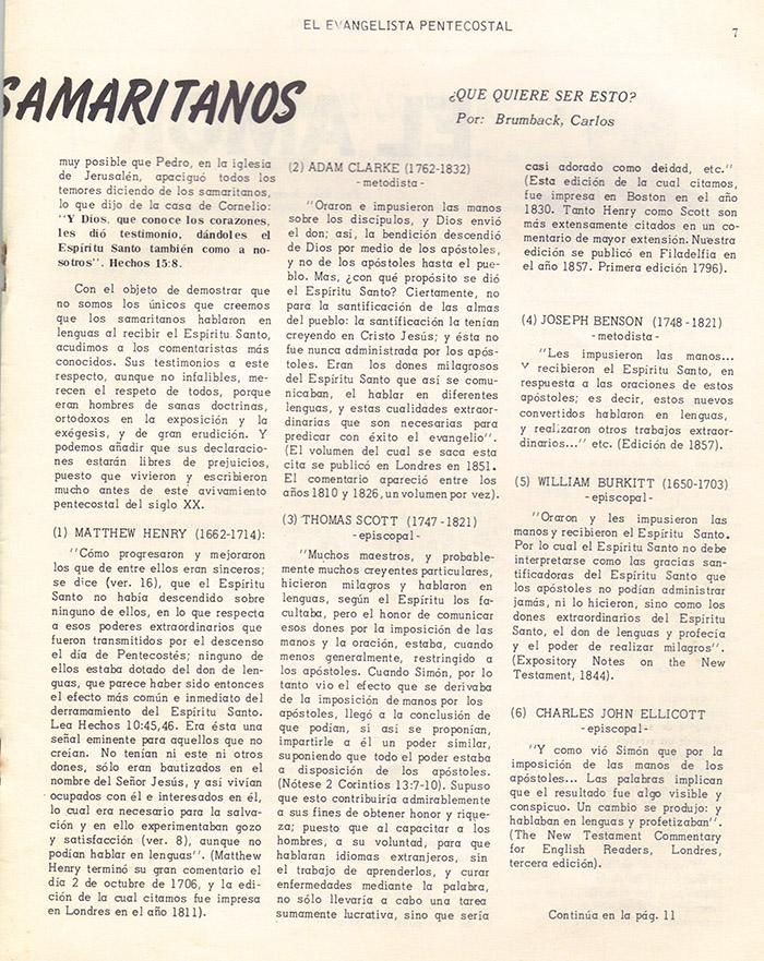 El Evangelista Pentecostal (Mayo 1978)-#5 parte 2 Página 7