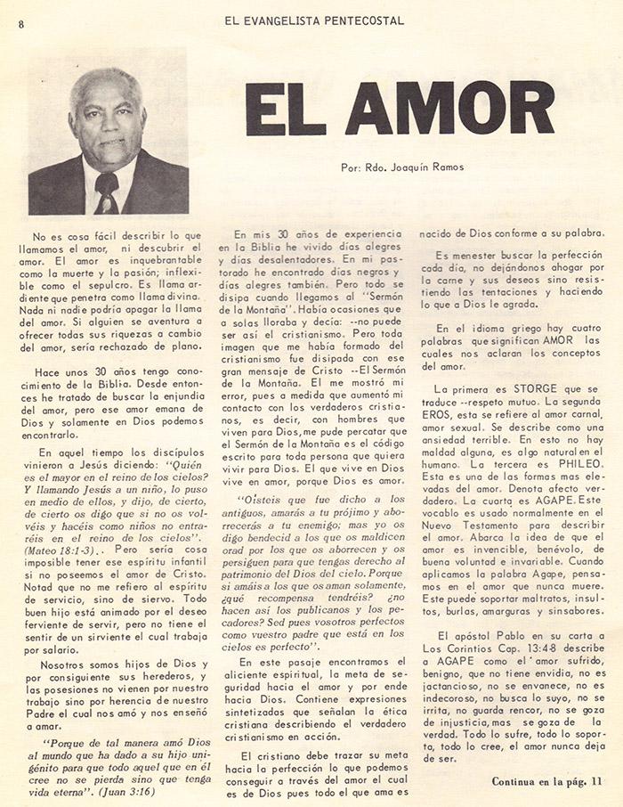El Evangelista Pentecostal (Mayo 1978)-#5 parte 2 Página 9